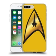 Official Star Trek Uniforms And Badges Tos Command Solo Soft Gel Case For Apple Iphone 7 Plus