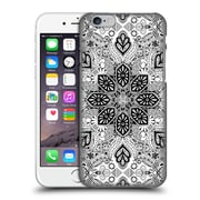 Official Micklyn Le Feuvre Mandala Lace In Monochrome Hard Back Case For Apple Iphone 6 / 6S