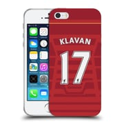 Official Liverpool Football Club Players Home Kit 16/17 Group 1 Klavan Soft Gel Case For Apple Iphone 5 / 5S / Se