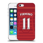 Official Liverpool Football Club Players Home Kit 16/17 Group 1 Firmino Soft Gel Case For Apple Iphone 5 / 5S / Se