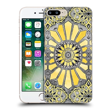 Official Micklyn Le Feuvre Patterns 3 Sunny Yellow Radiant Watercolour Hard Back Case For Apple Iphone 7 Plus