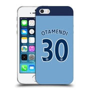 Official Manchester City Man City Fc Player Home Kit 2016/17 Group 1 Otamendi Soft Gel Case For Apple Iphone 5 / 5S / Se