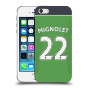 Official Liverpool Football Club Players Home Kit 16/17 Group 1 Mignolet Soft Gel Case For Apple Iphone 5 / 5S / Se