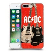 Official Ac/Dc Acdc Iconic Rock Guitars Hard Back Case For Apple Iphone 7 Plus