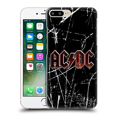 Official Ac/Dc Acdc Logo Red Grunge Hard Back Case For Apple Iphone 7 Plus