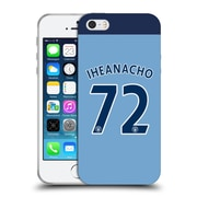 Official Manchester City Man City Fc Player Home Kit 2016/17 Group 2 Iheanacho Soft Gel Case For Apple Iphone 5 / 5S / Se