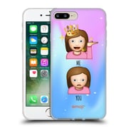 Official Emoji So Sassy Me Vs You Soft Gel Case For Apple Iphone 7 Plus