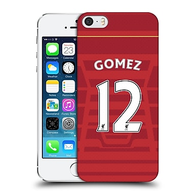 Official Liverpool Football Club Players Home Kit 16/17 Group 2 Gomez Hard Back Case For Apple Iphone 5 / 5S / Se