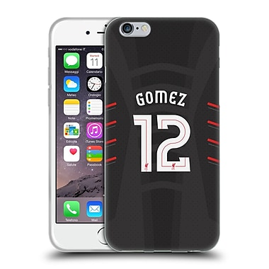 Official Liverpool Football Club Players Away Kit 16/17 Group 2 Gomez Soft Gel Case For Apple Iphone 6 / 6S