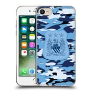Official Manchester City Man City Fc Camou City Colourways One Colour Soft Gel Case For Apple Iphone 7