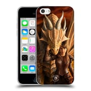 Official Anne Stokes Dragons 2 Inner Strenght Soft Gel Case For Apple Iphone 5C