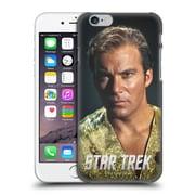 Official Star Trek Embossed Captain Kirk Mirror Hard Back Case For Apple Iphone 6 / 6S