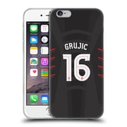 Official Liverpool Football Club Players Away Kit 16/17 Group 2 Grujic Soft Gel Case For Apple Iphone 6 / 6S