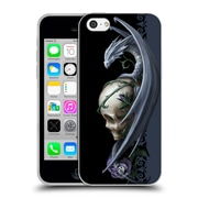 Official Anne Stokes Dragons 2 Skull And Rose Soft Gel Case For Apple Iphone 5C