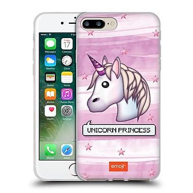 Official Emoji Pastel Sass Unicorn Princess Soft Gel Case For Apple Iphone 7 Plus