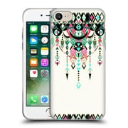 Official Micklyn Le Feuvre Modern Deco Pink And Turquoise Soft Gel Case For Apple Iphone 7