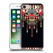 Official Micklyn Le Feuvre Modern Deco Red And Black Soft Gel Case For Apple Iphone 7