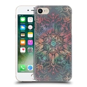 Official Micklyn Le Feuvre Floral Patterns Winter Sunset Mandala Hard Back Case For Apple Iphone 7