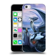 Official Anne Stokes Dragon Friendship New Horizons Soft Gel Case For Apple Iphone 5C
