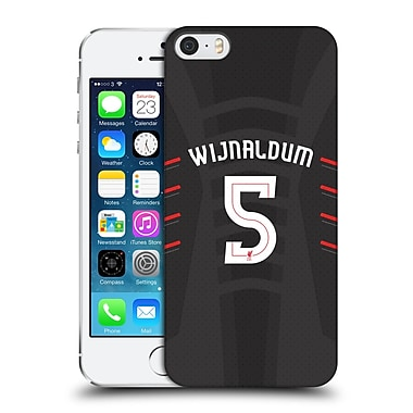 Official Liverpool Football Club Players Away Kit 16/17 Group 1 Wijnaldum Hard Back Case For Apple Iphone 5 / 5S / Se