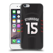 Official Liverpool Football Club Players Away Kit 16/17 Group 1 Sturridge Soft Gel Case For Apple Iphone 6 / 6S