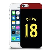 Official Manchester City Man City Fc Away Kit 2016/17 1 Delph Hard Back Case For Apple Iphone 5 / 5S / Se