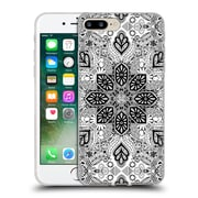 Official Micklyn Le Feuvre Mandala Lace In Monochrome Soft Gel Case For Apple Iphone 7 Plus
