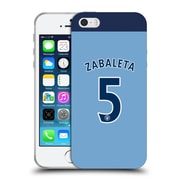 Official Manchester City Man City Fc Player Home Kit 2016/17 Group 1 Zabaleta Soft Gel Case For Apple Iphone 5 / 5S / Se