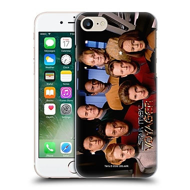 Official Star Trek Iconic Characters Voy Full Cast Hard Back Case For Apple Iphone 7