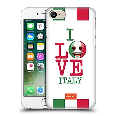 Official Emoji I Love My Country Italy Hard Back Case For Apple Iphone 7