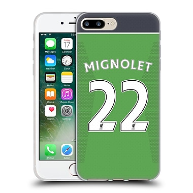Official Liverpool Football Club Players Home Kit 16/17 Group 1 Mignolet Soft Gel Case For Apple Iphone 7 Plus