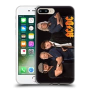 Official Ac/Dc Acdc Group Photo Band Studio Shot Soft Gel Case For Apple Iphone 7 Plus