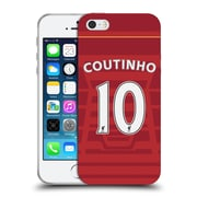 Official Liverpool Football Club Players Home Kit 16/17 Group 1 Coutinho Soft Gel Case For Apple Iphone 5 / 5S / Se