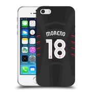Official Liverpool Football Club Players Away Kit 16/17 Group 2 Moreno Soft Gel Case For Apple Iphone 5 / 5S / Se