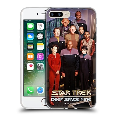 Official Star Trek Iconic Characters Ds9 Main Cast Soft Gel Case For Apple Iphone 7 Plus