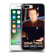 Official Star Trek Iconic Characters Ds9 Miles O'Brien Soft Gel Case For Apple Iphone 7 Plus
