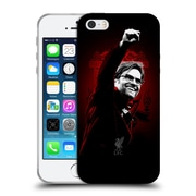 Official Liverpool Football Club Red Pride Klopp Soft Gel Case For Apple Iphone 5 / 5S / Se