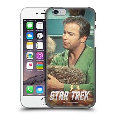 Official Star Trek Embossed Captain Kirk Tribbles Hard Back Case For Apple Iphone 6 / 6S