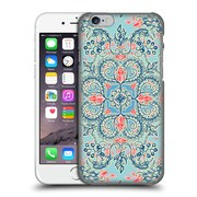 Official Micklyn Le Feuvre Floral Patterns Red And Blue Hard Back Case For Apple Iphone 6 / 6S