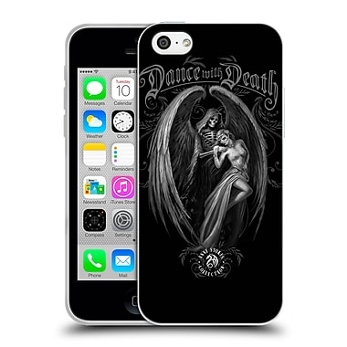 Official Anne Stokes Gothic Dance With Death Soft Gel Case For Apple Iphone 5C