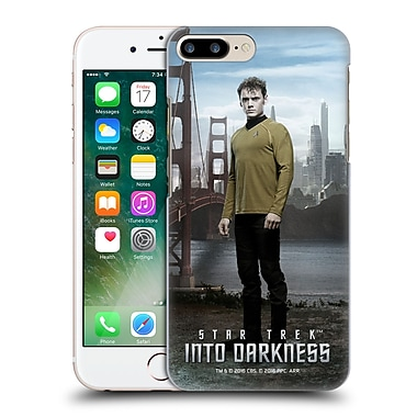 Official Star Trek Characters Into Darkness Xii Chekov Hard Back Case For Apple Iphone 7 Plus