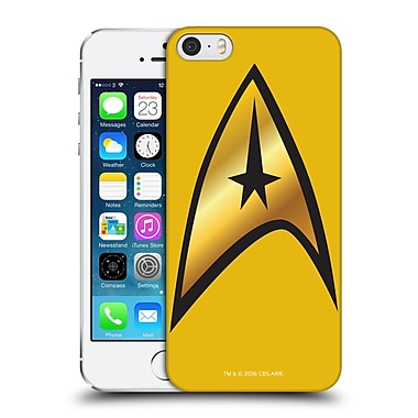 Official Star Trek Uniforms And Badges Tos Command Solo Hard Back Case For Apple Iphone 5 / 5S / Se