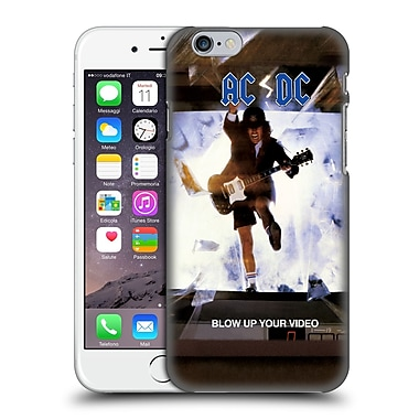 Official Ac/Dc Acdc Album Cover Blow Up Your Video Hard Back Case For Apple Iphone 6 / 6S