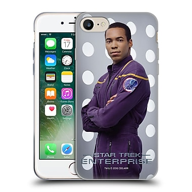 Official Star Trek Iconic Characters Ent Travis Mayweather Soft Gel Case For Apple Iphone 7