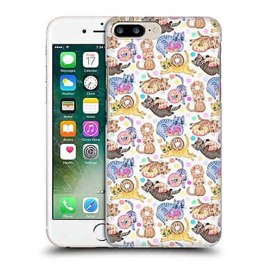 Official Micklyn Le Feuvre Animals Sprinkles On Donuts And Whiskers On Kitterns Hard Back Case For Apple Iphone 7 Plus