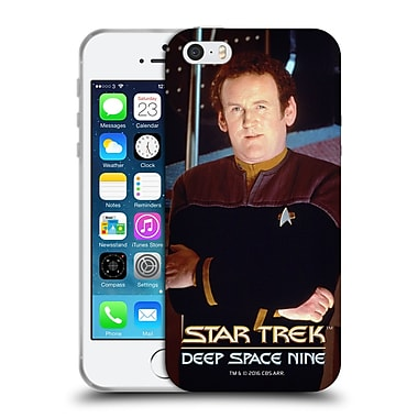Official Star Trek Iconic Characters Ds9 Miles O'Brien Soft Gel Case For Apple Iphone 5 / 5S / Se