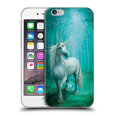Official Anne Stokes Mythical Creatures Forest Unicorn Soft Gel Case For Apple Iphone 6 / 6S