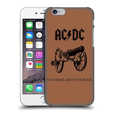 Official Ac/Dc Acdc Album Cover For Those About To Rock Hard Back Case For Apple Iphone 6 / 6S