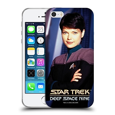 Official Star Trek Iconic Characters Ds9 Ezri Dax Soft Gel Case For Apple Iphone 5 / 5S / Se