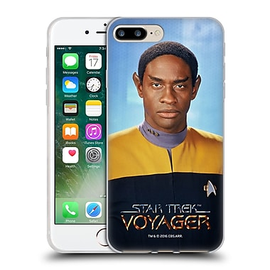 Official Star Trek Iconic Characters Voy Tuvok Soft Gel Case For Apple Iphone 7 Plus